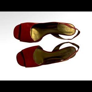 Red Jessica Simpson Heels